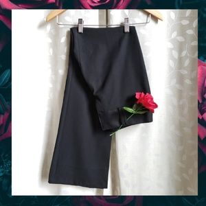 {Tracy Evans}Black Wide Leg Career Dress Pants